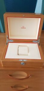 Genuine lacquered beech wood omega watch box