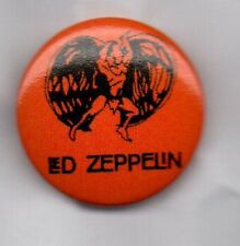 LED ZEPPELIN BUTTON BADGE -CLASSIC ENGLISH ROCK BAND - ROBERT PLANT JIMMY PAGE