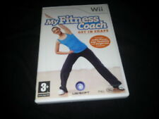 WII GAME MY FITNESS COACH GET IN SHAPE.