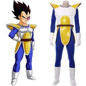Dragonball Dragon Ball Z Vegeta Cosplay Costume Outfit Uniform Full Set