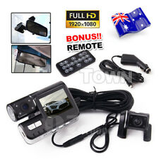 1080P G-sensor True HD H.264 Dual Camera Car Recorder Dash DVR Video Crash Cam
