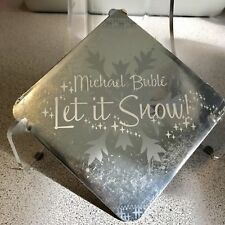 Michael Buble Let It Snow Christmas CD Rare Ornament Sleeve Case