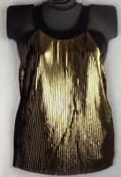 Karen Brooks Plus Size Knit Top Christmas Holiday Party Sequins Sparkle New