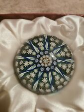 perthshire paperweight Vintage With Sticker  perfect condition bs1