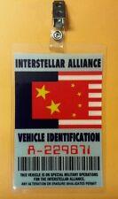 Firefly Serenity Interstellar Alliance Vehicle Identification Parking Permit
