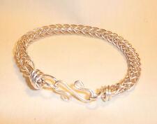 Sterling Silver Braided Viking Style Bracelet