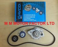 FOR FORD FOCUS + C-MAX 2.0 TDCi DAYCO ENGINE TIMING CAM BELT KIT AND WATER PUMP