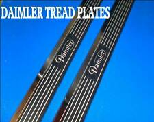 daimler xj coupe  pair tread plates stainless steel etched DAIMLER XJC