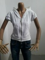 Maglia LIU JO Donna T-shirt Woman Polo Femme Taglia Size L Cotone Bianco 8504