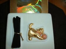 "Estee Lauder Solid Perfume Compact ""Delightful Kitten"" MIB"