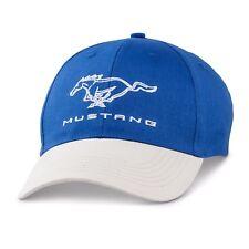 NEW LICENSED FORD MUSTANG GT GT350 GT500 COBRA SVT MACH BOSS BLUE / GREY HAT/CAP