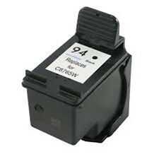 HP 94 Black C8765WN Reman Ink Cartridge 45% More Output for Deskjet 460c 460cb
