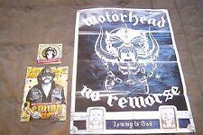 MOTORHEAD LEMMY 1945-2015 GREEK METAL HAMMER MAGAZINE + CD + POSTER