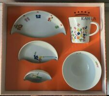 KAHLA Kids - 5 Piece Porcelain Dining Set - Mug / Bowl / 3 Plates - Made in GER