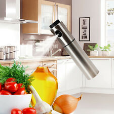 Stainless Steel Olive Pump Spray Fine Bottle Oil Sprayer Pot Kitchen Tool BBQ