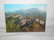 Vecchia cartolina foto d epoca di Rivello Potenza panorama veduta scorcio case