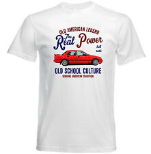 VINTAGE AMERICAN CAR FORD SIERRA SAPPHIRE - NEW COTTON T-SHIRT