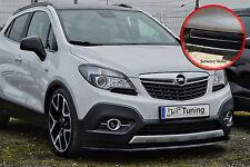 Alerón espada Front alerón cuplippe ABS para Opel Mokka con Abe negro brillante