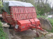 Ladewagen, Heuwagen Krone HS 2, voll funktionsfähig