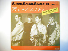 """MAXI 12"""" POP 80s  ▒ REAL LIFE : SEND ME AN ANGEL ( EXTENDED MIX )"""