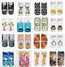 Fashion Spring Cool 1 Pair Polyester Blend Women Unisex Ankle Socks Cute Animals