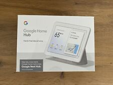 Google Nest Hub with Built-In Google Assistant, Chalk (GA00516-US) Home NEW