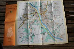 28874 City Map Meissen near Dresden With Straßenverzeichnis, 1983 1:15.000