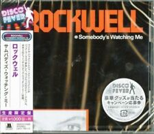 ROCKWELL - SOMEBODY'S WATCHING ME 2018 JAPANESE REMASTERED CD 1984 ALBUM!