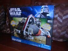Hasbro  Star Wars The Clone Wars Republic Swamp Speeder New