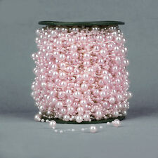 5M Wedding Pearl Acrylic Bead Plastic Garland Rope Wedding Party Decoration NEW
