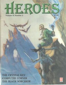 Heroes Avalon Hill HeroQuest Vol 2 #3