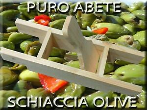 SCHIACCIA OLIVE ARTIGIANALE NOVITA'