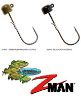 Z-MAN Jigheads ShroomZ 1/10oz Finesse Power NED Rig (PJH110) Any 2 Colors