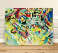 """Wassily Kandinsky The Fugue ~ CANVAS PRINT 24x18"""" ~  Classic Abstract Art"""
