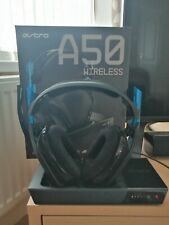 ASTRO A50 Gaming PRO Wireless Headset for PS4/PC Black/Blue Gen 3