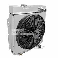 """Ford Ranchero Aluminum Radiator Shroud & 16"""" Fan-16 3/8 x 17 1/4 DPI 259"""
