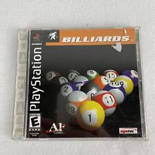 New listing Billiards (Sony PlayStation 1, 2001) Complete Case & Manual