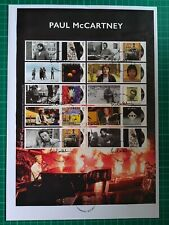 2021 Paul McCartney Album Covers Collector Sheet FDC