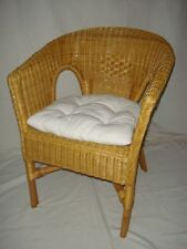 Rattan Chair NEW Honey with Pads Chair Wicker Chairs Stackable