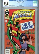 Mister Miracle #19 CGC 9.8 White Pages 1st Adam Hughes DC Work DC Comics 1990