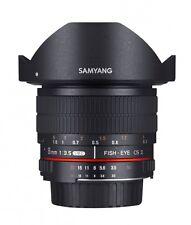 Samyang 8 mm / 3,5 UMC Fish-Eye II  Objektiv für Samsung NX Neuware  schwarz