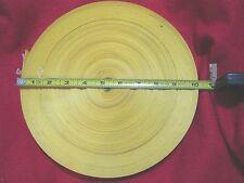 "60  Yard Roll 1"" Yellow Nylon Webbing  Military Grade"