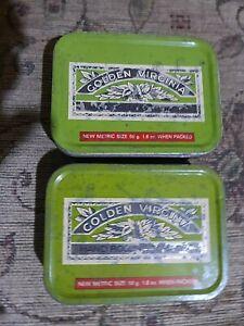 vintage 2 Golden Virginia 1 once tobacco tins