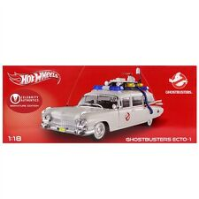 GHOSTBUSTERS ECTO1 CADILLAC 1:18 SCALE DIE CAST-SIGOURNEY WEAVER SIGNED-NIB-RARE