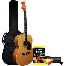 Kona Acoustic Guitar For Dummies Bundle Guitar Starter Kit Beginners Learn How