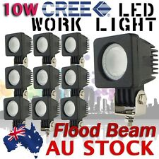 10X 10W USA Cree LED Flood Work Light LED Lamp Off Road Bike Car 12V 24V AU SHIP
