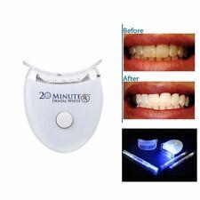 Kit Traitement Blanchiment Dents Tartre Gel 20 Minute Dental Blanc LED Sourire