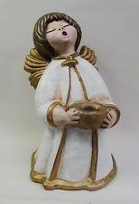 Älterer sehr grosser Bozener Keramik Engel Thun Engel 35cm