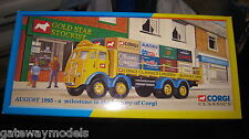 CORGI CLASSICS ERF 8 WHEEL RIGID 1995 MILESTONE IN THE CORGI HISTORY  #09802