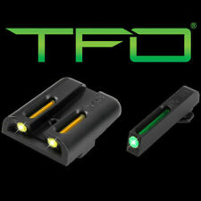 TruGlo TFO Green/Yellow Tritium Night Sights For Glock 17/19/23/26/27-TG131GT1Y